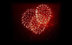 πυροτεχνική μπόμπα καρδιά